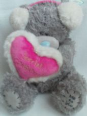 Adorable Big 'Special Girlfriend Loveheart' Me to You Plush Bear BNWT